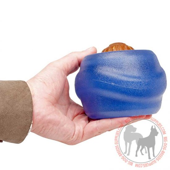 Large Rolling Dog Toy - Treat Dispensing and Dental Hygiene