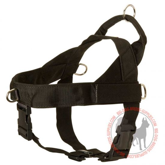 Nylon Dog Harness for Pulling, Tracking, Training, Walking and Sporting