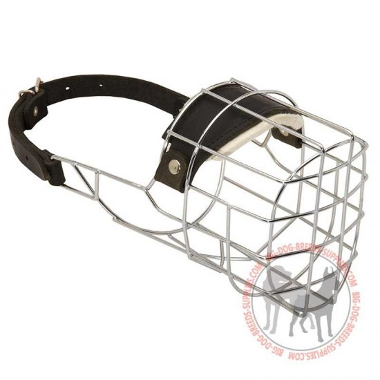 Wire Basket Dog Muzzle for Daily Training or Walking