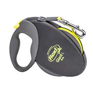 'Easy Walking' Retractable Nylon Dog Leash for Small & Medium Size Breeds