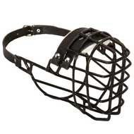 Wire Basket Dog Muzzle for Wintertime