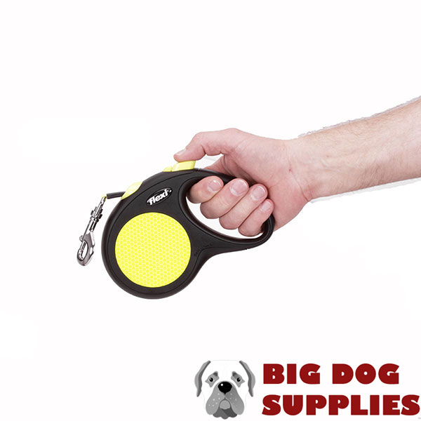 Retractable Leash with Strong Convenient Chrome Plated Snap Hook