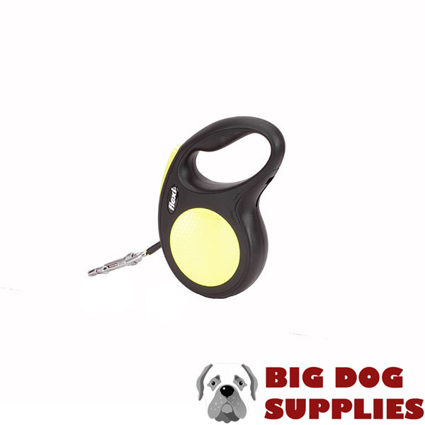 Everyday Walking Total Safety Retractable Leash Neon Style