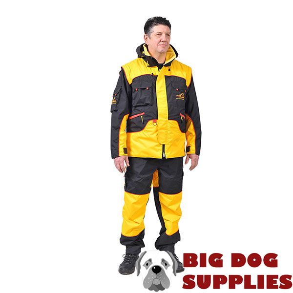 Protection Training Suit of Waterproof Membrane Material