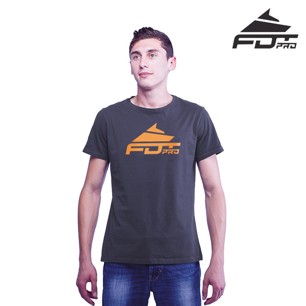 Reliable Cotton FDT Pro Men T-shirt Dark Grey