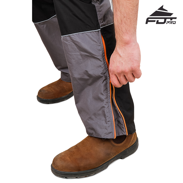 FDT Professional Pants with Reliable Zip fasteners for Dog Trainers
