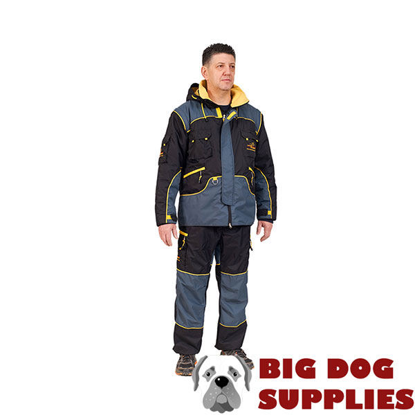 Weatherproof Protection Suit for Dog Training