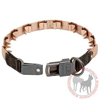 Firm Neck Tech Dog Collar with Secure Buckle