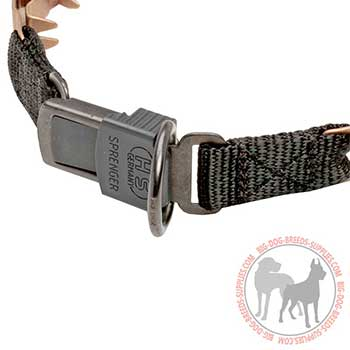 Curogan Neck Tech Dog Collar with Quick Release Buckle