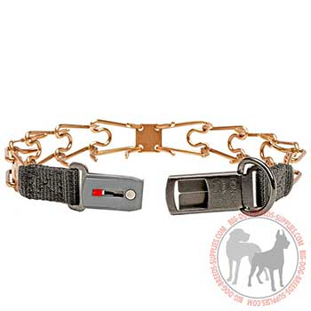 Longevous Dog Pinch Collar with Strong Hardware