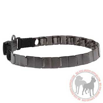 Matt Neck Tech Dog Collar of Stainless Steel