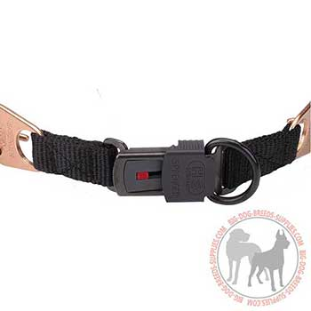 Longevous Dog Pinch Collar with Quick Release Buckle