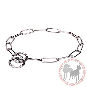 Stainless Dog Collar for Training
