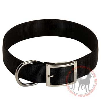 Dog collar nylon breathable, lightweight, durable