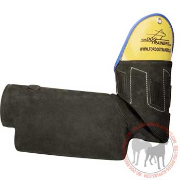 Bite Protection Sleeve with Padded Handle Inside