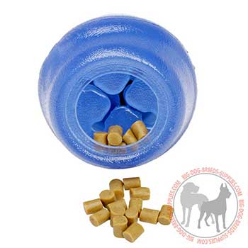 Non-toxic Dog Rubber Kibble Dispenser