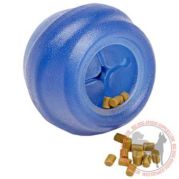 Safe Canine Rubber Kibble Dispenser
