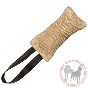 Jute Bite Tug for Dog Prey Drive