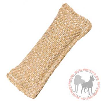 Dog Jute Bite Tug Stitched for Extra Durability