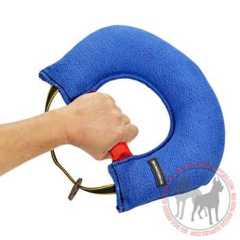 Comfy Dog Bite Tug with Handle
