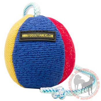 Dog training ball eco-friendly material