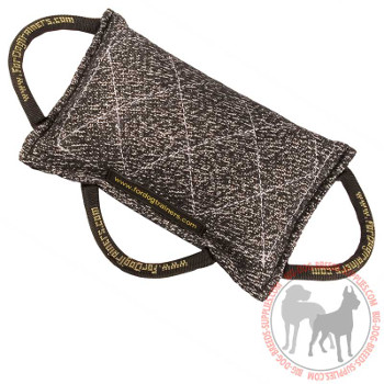 Bite Dog Pad with 3 Handles