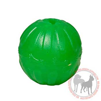 Chewing Canine Rubber Toy for Treat Dispensing