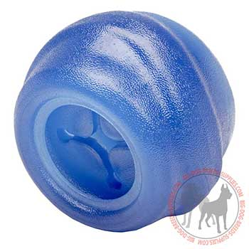 Colorful Dog Rubber Treat Dispenser for Chewing