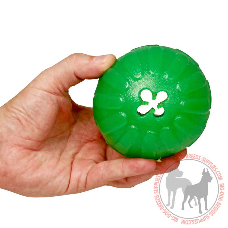 Interactive Pet Dogs Toys Treat Ball Indestructible Dog Food Dispenser