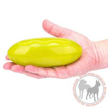 Colorful Rubber Treat Dispenser for Large Dogs