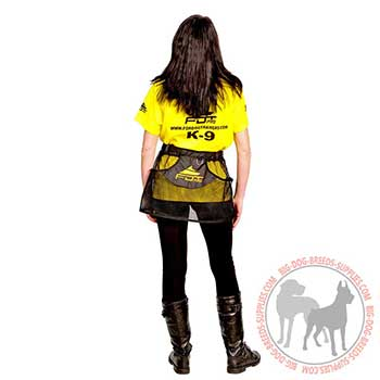 Synthetic Skirt Pouch for Dog Training
