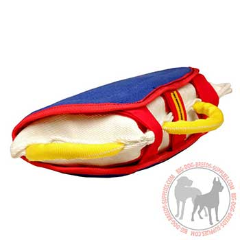 Comfy Dog Bite Pillow with Handles
