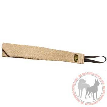 Dog jute bite rag for puppy training