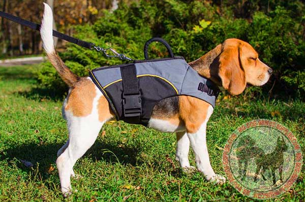Nylon Dog Harness of Vest Type