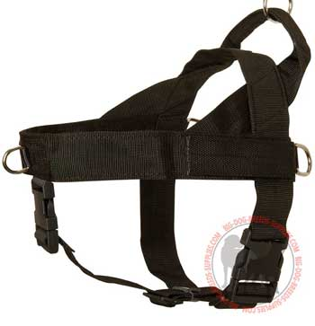 Dog Nylon Harness for Tracking and Pulling