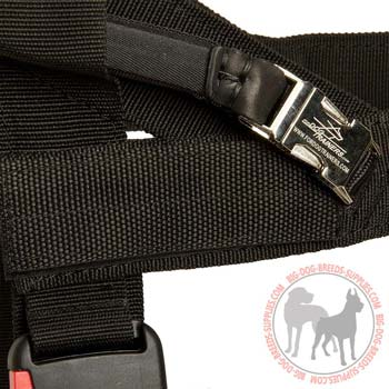 Reliable Buckle for Quick Fastening of the Large Handle