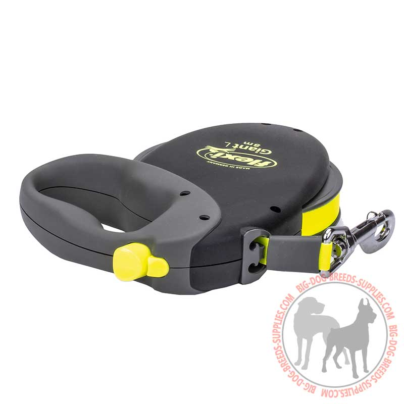 retractable leash for large dog
