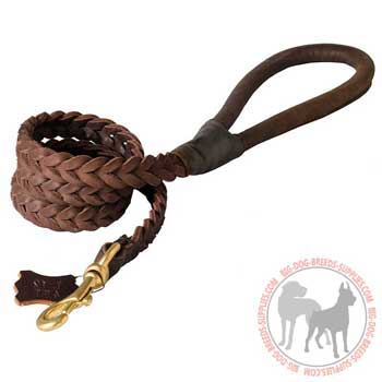 Leather Dog Leash for Training