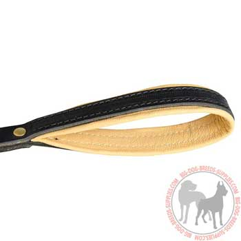 Leather Handle with Nappa Padding