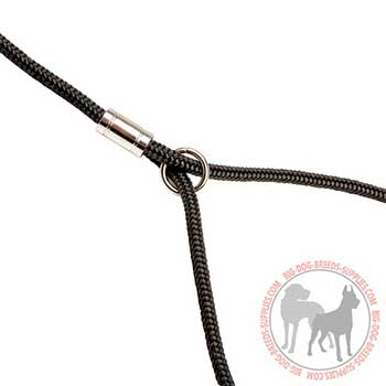Dog Nylon Leash with Size Fixer