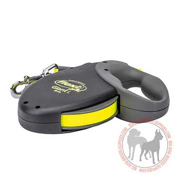 Lightweight Dog Leash with Reflective Tape