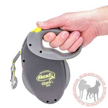 Retractable Dog Leash with a Comfy Handle