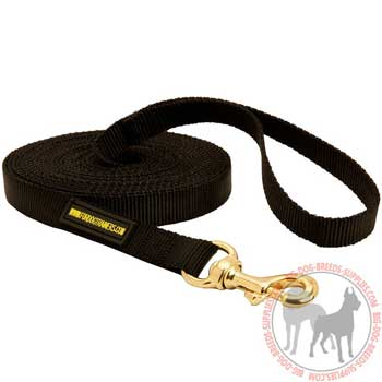 Dog nylon leash for tracking