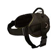 All-Weather Nylon Dog Harness for Weight Pulling Activities