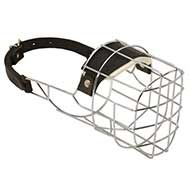 'The Silencer' Wire Basket Dog Muzzle for Daily Training or Walking